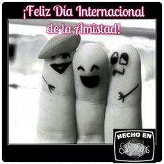 #DiaInternacionaldelaAmistad #sublimadastshirtsymás #personalizalocomoquieras