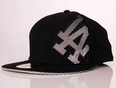 Los Angeles Dodgers Halftone 59Fifty Fitted Baseball Cap by NEW ERA x MLB