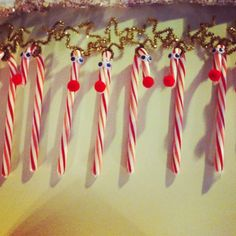 Cute & Easy Reindeer Candy Canes