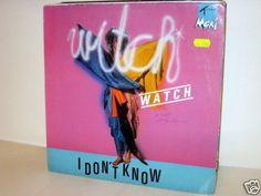 WITCH WATCH -  I Don´t Know *ItaloDisco 88* 12  MAXI y