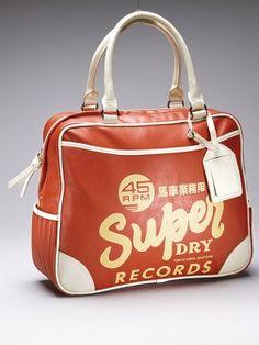 SuperdryRecord Bag   Very.co.uk