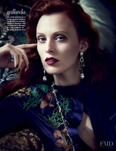Arte Seductor in Vogue Mexico with Karen Elson