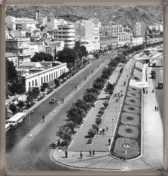 Santa Cruz - Avenida Anaga - año 1953