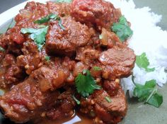 Spicy Indian Beef Curry from Food.com: Here is another one of my favourite curry dishes. This dish will make your taste buds stand to attention with the mixture of fragrant herbs and spices. You'll come to realise how easy it is to make such a flavourful curry dish. Enjoy