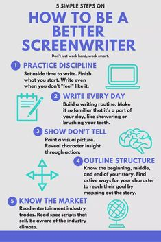 Guide on How to Be A Better Screenwriter! Taking yourself seriously as a writer is a rite of passage. You go from uncertainty to asserting yourself. Script Writing, Book Writing Tips, Tv Writing, Storyboard, Film Tips, Movie Scripts, E Book, Film Studies, Film School