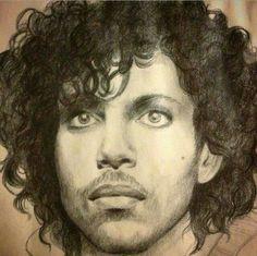 Sketch of Prince.