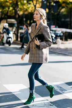 Spring Season: Oversized blazers