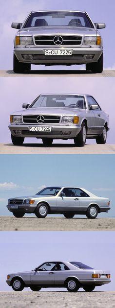 1981 Mercedes-Benz 500 SEC / C126 / beige grey / Germany / 223hp V8 / 17-357