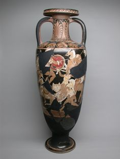 Greek, Campania, Italy Attributed to the Ixion Painter, Amphora (Storage Jar)