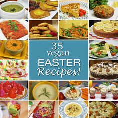 Jazzy Vegetarian | Vegan Recipes - Making the World a Better Place, One Recipe at a Time | Blog : 35 Vegan Recipes for Easter!