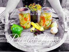 HD Pickled Peppers  ( Quick & Easy ) - Asian Redneck Fusion Cooking Recipes