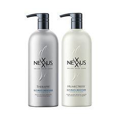 Nexxus Therappe Shampoo Humectress Conditioner 44 Ounces Duo Set *** Be sure to check out this awesome product. (This is an affiliate link) Hair Shampoo, Shampoo And Conditioner, Amber Heard Makeup, Your Hair, Salons, Hair Care, Moisturizer, Bottle, Shampoos