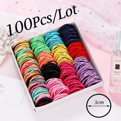 Product Details New Girls Candy Colors Nylon Rubber Bands Children Safe Elastic Hair Bands Ponytail Holder Kids Hair Accessories Colors. Elastic Rope, Elastic Hair Bands, Hair Band For Girl, Accesorios Casual, Hair Rings, Cute Headbands, Kids Hair Accessories, Ponytail Holders, Rubber Bands