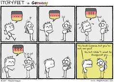 "#ItchyFeet #Germany ""You look german, but you´re not german"" haha happened to me several times."