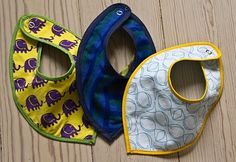 im sure i can make these drool bibs