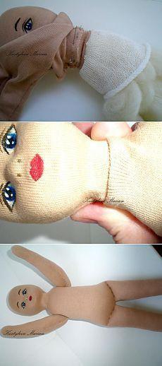 Мастер-класс: рождение куколки «Glorex». Часть третья - Ярмарка Мастеров - ручная работа, handmade