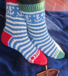 Ravelry: Starboard and Larboard Mystery Sock Pattern pattern by Bitta Mikkelborg