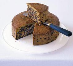 Gingery Christmas cake