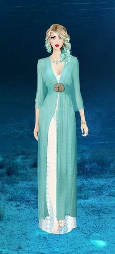 LTE | Deep Sea Goddess | Covet Fashion Game | Limited Time Events | Voting Results 4.47 | Unworn Items 0.10 | Spring 2014 Items 0.13 | Total 4.70