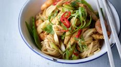 Hold tight for these quick and easy Singapore Noodles / The Body Coach Blog / The Body Coach