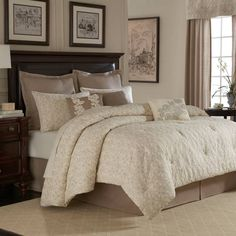 Royal Heritage Home® Sonoma Comforter Set in Ivory