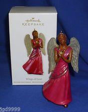 hallmark african american christmas angels | Hallmark Christmas Ornament Beautiful Angel African American Angel NIB ...