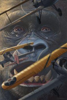 ArtStation - King Kong, Dane Cozens