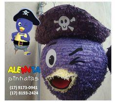 Pinhata Pablo Backyardigans #backyardiganspinata #pinhatapablo