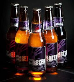 Purple Hand Beer and Salamandra by Minerva are the First