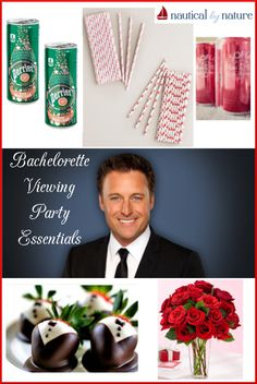 Nautical by Nature   The Bachelorette Viewing Party Essentials