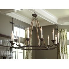 someday i want a HUGE chandelier like this... as big as my current dining room haha