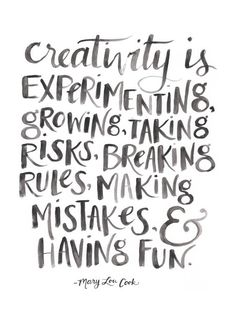 Quotes On Creativity Gorgeous 10 Practices To Help Overcome A Creative Block  Watercolor Hand . Inspiration