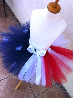 fourth of july tutu, american flag tutu