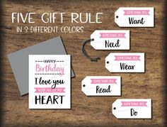 Five Senses Gift Tags & Card. Date Night idea 5 senses Instant Happy Anniversary My Love, Happy Birthday My Love, Anniversary Cards, Anniversary Ideas, 5 Gifts, Love Gifts, Five Senses Gift, Date Night Gifts, Christmas Gifts For Him