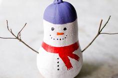 How+to+Make+a+Gourd+Snowman+--+via+wikiHow.com