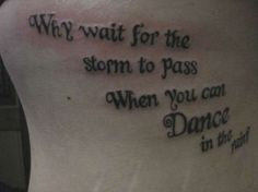 These Are the Word Tattoos Quote Ideas That You Should Choose: Inspiring Optimistic Words Tattoo Design ~ Tattoo Font Inspiration