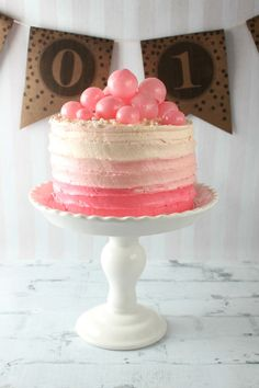 Nothing rings in the New Year quite like champagne or, better yet, a champagne cake! So easy to make and so yummy!