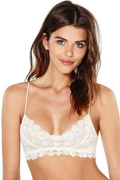 344e3e571a Honeydew Intimates Camilla Lace Bralette - Ivory Fashion Mode