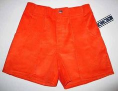 new old stock op shorts orange size 40 Levis Womens Shorts, Levi Shorts, High Waisted Shorts, Casual Shorts, Women's Shorts, 90s Fashion, Retro Fashion, Fashion Outfits, Bob Shoes