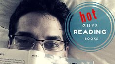 Hot Guys Reading Literary Instagram Trend--What is it about a hot man and a book? Learn about the hottest social media trend - HotDudes Reading on Instagram.