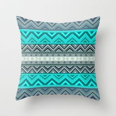 Mix #180 Throw Pillow by Ornaart - $20.00
