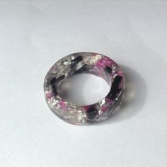 The 'Barbie Doll' resin ring by CharlotteBootyDesign on Etsy