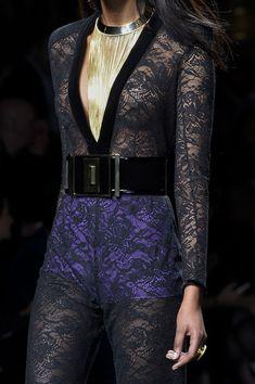 Balmain at Paris Fashion Week Fall 2015 - Details Runway Photos