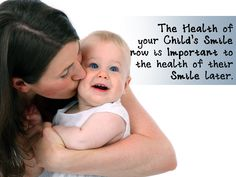 Baby teeth help your child chew and speak. They also hold space in the jaws for permanent teeth that are growing under the gums