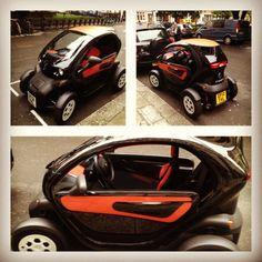 The Renault Twizy an awesome tandum seater all electric...european