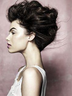 Big Vintage Updo Hairstyle