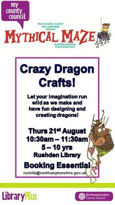 Summer Reading Challenge event at Rushden Library.