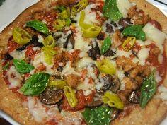 rocco dispirito recipes | Rocco DiSpiritos Individual Crispy Loaded Pizza...this looks soooo good!