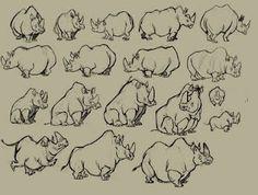 rhino character study