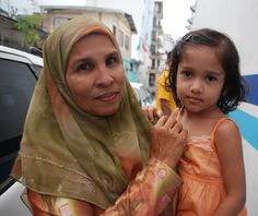 Mother  daughter. #Maldives